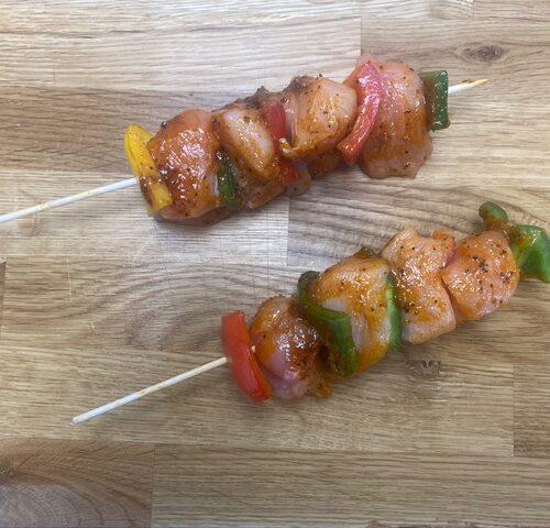 Chicken Chilli Kebabs